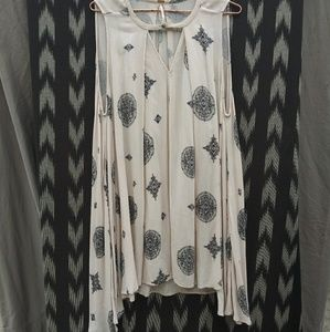 FREE PEOPLE flowy dress